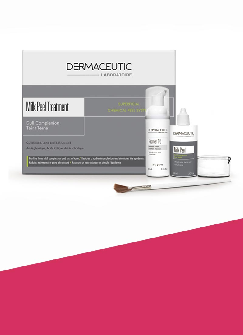 Dermaceutic Milk Peel treatment available at Rewonder Clinic