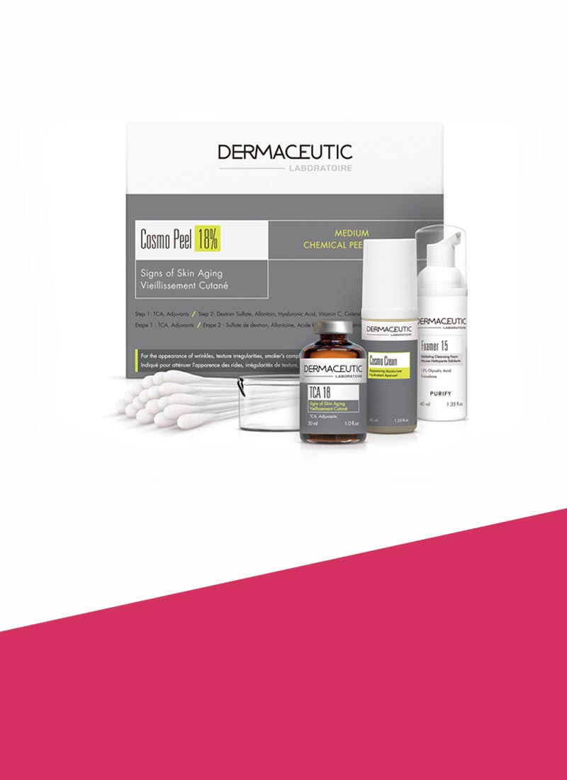 Dermaceutic Cosmo Peel 18% Available at ReWonder Clinics